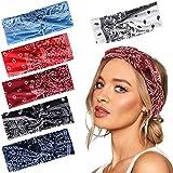 Joinfun diademas mujer turbantes para mujer accesorios cinta pelo bandas para el pelo mujer (D)