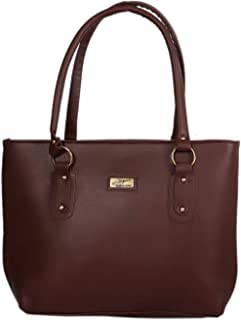 Sellican Leather PU Handbag for Women and Girls College Office Bag, Stylish Latest Designer Spacious Shoulder Tote Bag Purse. Gift for Her