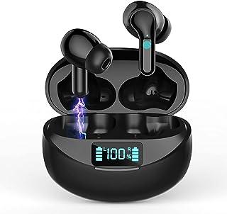 Auriculares Inalámbricos Auriculares Bluetooth 5.0 Deportivos con Cancelación de Ruido Estéreo on Micrófono In-Ear Auricul...