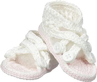 criss cross baby booties