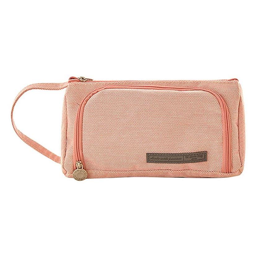 登山家エネルギーかどうかRuikeyキャンディーカラーの化粧バッグペンバッグの化粧バッグかわいい化粧バッグ化粧品の化粧旅行バッグ