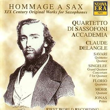 Hommage a Sax: XIX Century Original Works for Saxophone
