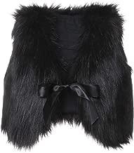XBTCLXEBCO Toddler Girl Faux Fur Vest Coat Winter Warm Waistcoat Outerwear