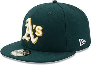 【メーカー取次】 NEW ERA 59FIFTY MLB On-Field オークランド・アスレチックス グリーン 11449353
