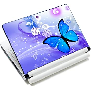 "Laptop Skin Sticker Decal,12"" 13"" 13.3"" 14"" 15"" 15.4"" 15.6 inch Laptop Skin Sticker Cover Art Decal Protector Notebook PC (Butterfly)"