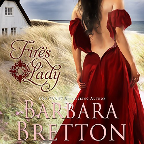 Fire's Lady audiobook cover art