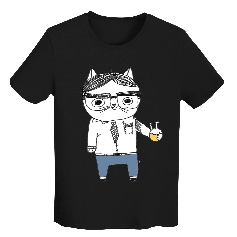 男のファション半袖 Tシャツ Christmas Tree Funny面白い図案デザイン夏のプレゼント