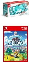 Nintendo Switch Lite, Standard, türkis-blau + The Legend of Zelda: Link's Awakening | Switch - Download Code [Preload]