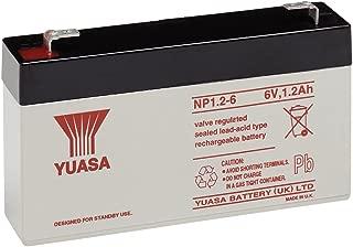 Yuasa NP1.2-6-Yuasa NP1.2-6 SLA Battery 6Volt 1.2AH