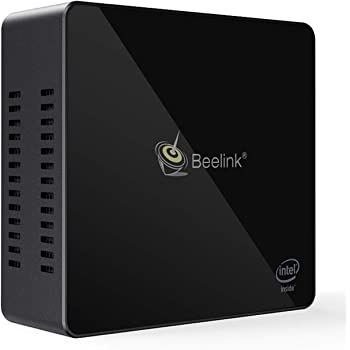 Beelink X45 Mini PC, Mini Computer Desktop con Processore Intel Gemini Lake Celeron J4105, 8GB LPDDR4/128GB SSD, 2,4/5,8 G Wi-Fi, 4K, LAN 1000 Mbps, Doppio HDMI 2.0, BT 4.0, Preinstallato Windows 10