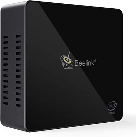 Beelink X55 Mini PC con Procesador Intel Gemini Lake Pentium Silver J5005, LPDDR4 8GB/128GB SSD, WiFi 2.4 + 5.8GHz, Intel HD Gráficos 605, 4K, H.265, 1000Mbps, BT 4.0, Preinstalado Windows 10