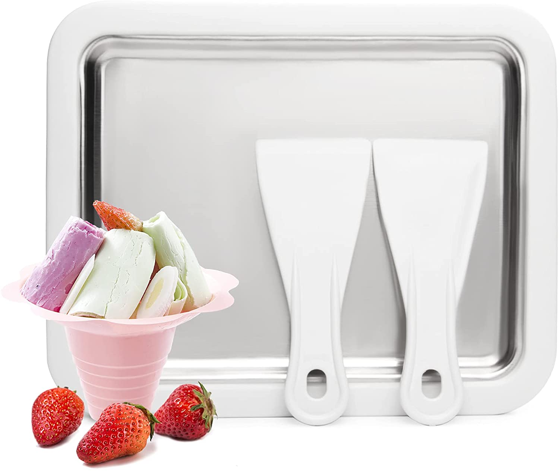 JoyMech Instant Ice Cream Maker Ideal for Making Soft Serve Ice Cream Slushies Frozen Yogurt Sorbet Gelato Rolled Ice Cream