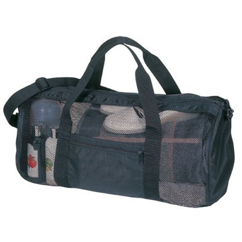 SDI 636391901048 运动健身房网卷袋,黑色