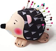 WILLBOND 4 Pieces Wrist Strap Pin Cushions Wrist Pin Cushions Sewing Wearable Needle Pincushions and Hedgehog Shape Pin Cushion for Sewing Accessories or DIY Crafts
