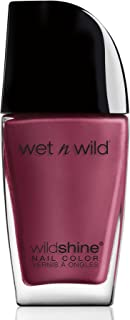 Wet n Wild WILDShine Nail Color Grape Minds Think Alike, 0.41FL.0Z/12.3ml