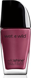 Wet n Wild WILDShine Nail Color Grape Minds Think Alike, 0.41FL.0Z/12.3ml