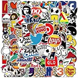101 Pcs Stickers for Adults Teens, Cool Stickers Decals for Laptop, Skateboard,Water Bottles, Travel Case, Water Bottle , Car, Luggage ,Bike