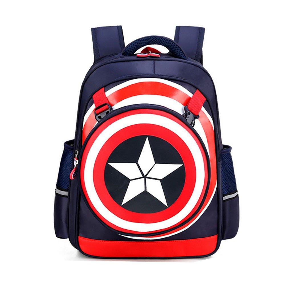 Backpack Captain America Waterproof School