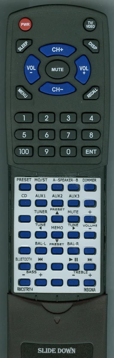 Replacement Milwaukee Mall Remote Control for Insignia NS-STR514 RMC-STR514 N Large special price !!