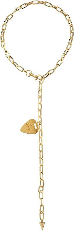 Rebecca Minkoff - Guitar Pick Signature Link Toggle Y-Necklace