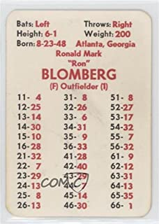 Ron Blomberg (Baseball Card) 1972 APBA Baseball 1971 Season - [Base] #ROBL