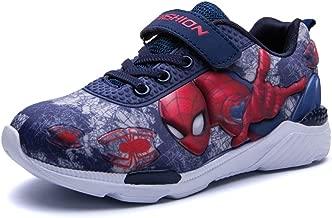 ROKIDS Fashion Kids Spiderman Sneakers Boys Cartoon Anime Frozen Shoes Girls
