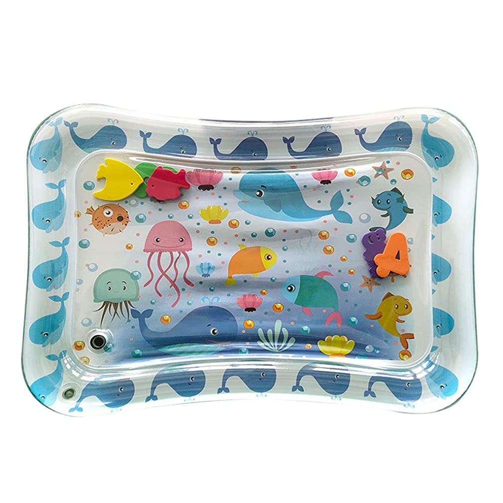 Lissom Inflatable Water Play Mat for Children and Infant, Mini Play Activity Center for Infants & Toddlers, Inflatable Baby Fun, Activity Play Center