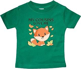 inktastic My Cousins Love Me- Little Fox Baby T-Shirt