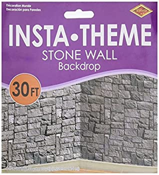 Beistle Stone Wall Scene Setter