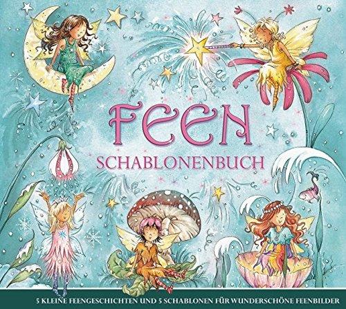 Feen-Schablonenbuch