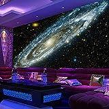 3D Vlies Tapete Personality Künstlerische Malerei 3D Wandbild Tapete Galaxy Starry Nebula Deckengemälde Wohnzimmer Sofa Schlafzimmer Hintergrund Tapete Malerei @ 250 * 175