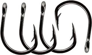 Jumping fish 50pcs Bait Hook Live Bait Circle Fishing Hooks Strong Stainless Steel Hooks Set Saltwater Fishing