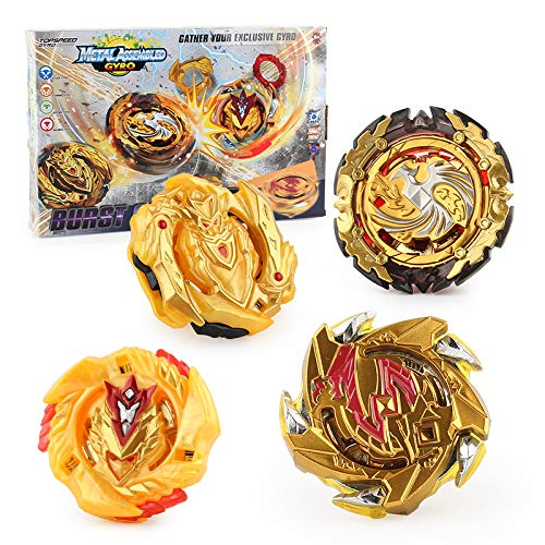 Burst Bey Battle Battling Top Gyro Battle Evolution Avatar Attack with 4D Launcher Grip and Fusion Arena Set 4 in 1