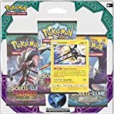 Asmodee - 3PACK01SL02 - Carte - 3 Boosters - Pokémon Sl2