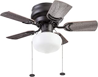 Prominence Home 51655-01 Hero Ceiling Fan, 28, Espresso
