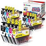 GPC Image ブラザー対応 Brother LC3111-4PK インクカートリッジ 12本セット(4色セット *3)ブラザー LC3111 インク 互換 残量表示機能 2年保証 個包装 大容量