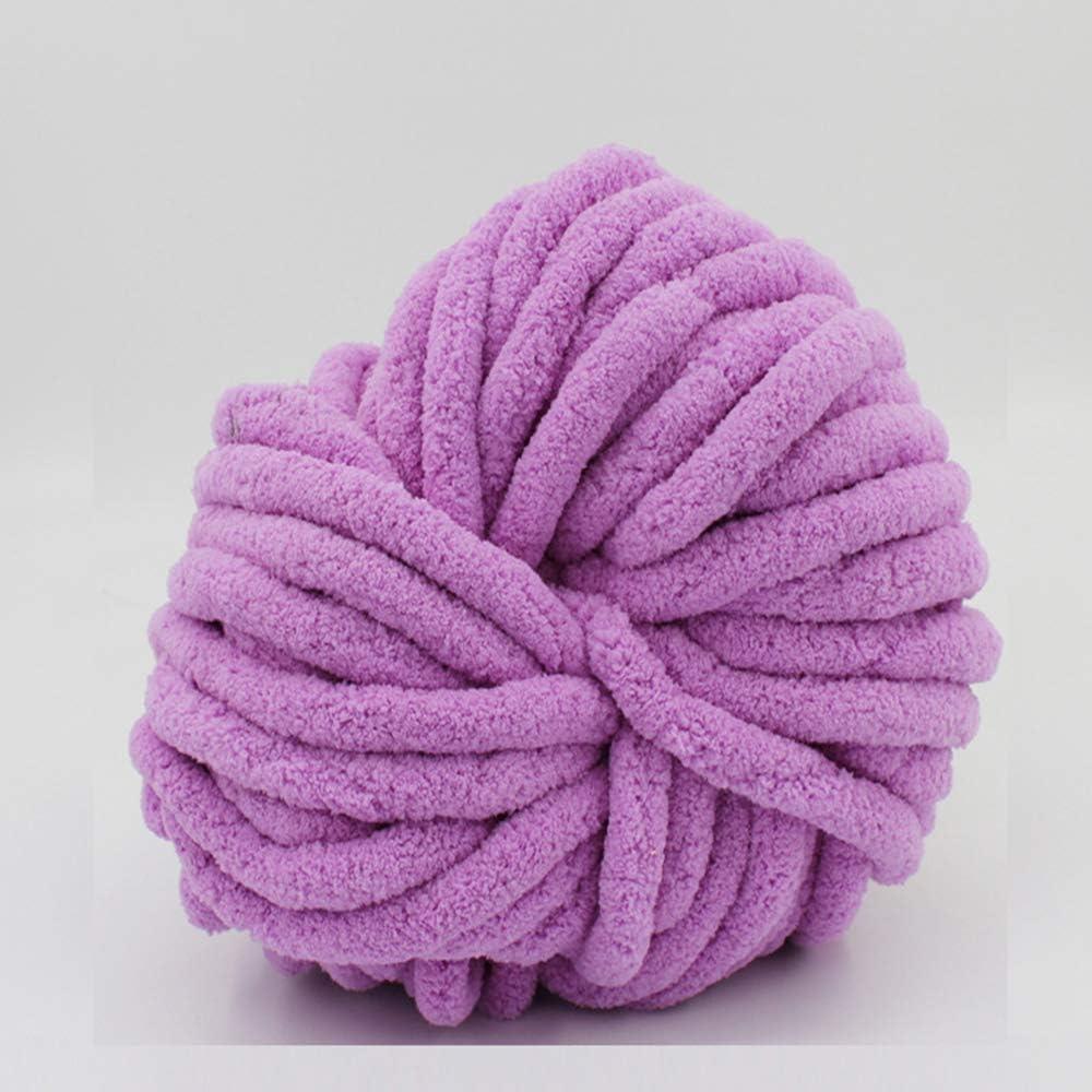 2021 new ZUIBESCHOS Chenille Yarn Light Max 90% OFF Purple Ar 70.4OZ Chunky for