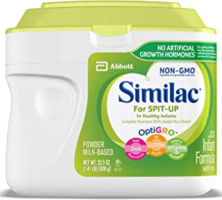 Similac For Spit-Up NON-GMO Infant Formula with Iron, Powder, 1.41 lb