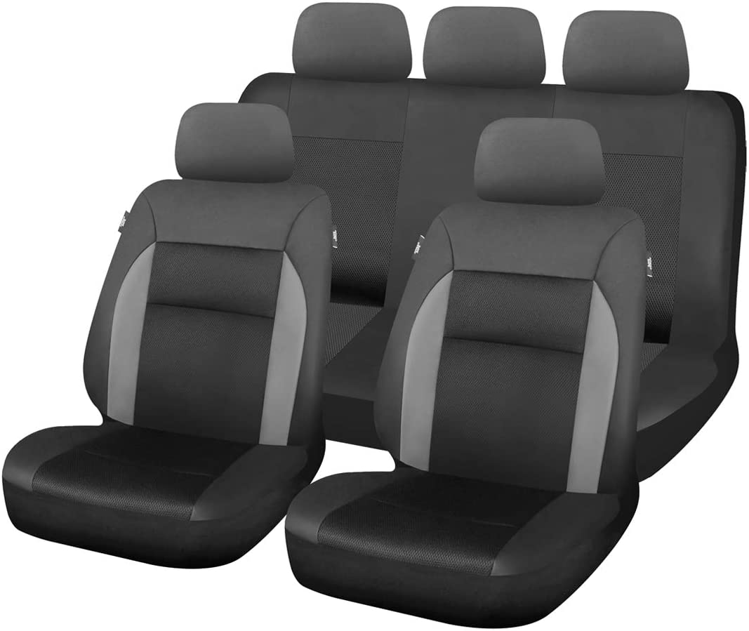 uxcell 8pcs 5 popular Universal Front Rear Seat Max 74% OFF Protecto Cover Cushion Mat