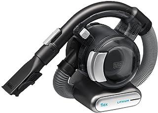 Black+Decker BDH2020FL - Aspiradora flexible de litio, 20 V max, con cepillo para pelo de mascotas, inalámbrica