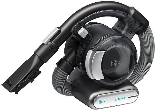BLACK DECKER 20V MAX Flex Handheld Vacuum With Pet Hair Brush Cordless Grey BDH2020FL