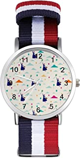 Mary Poppins Reloj de ocio para adultos, moderno, bonito y personalizado, de aleación, casual, deportivo, para hombres y m...