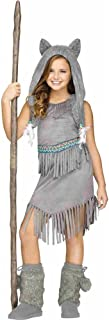 Tween Girls Halloween Costume Wolf Dancer