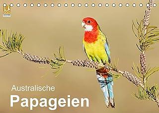 Australische Papageien (Tischkalender 2022 DIN A5 quer)