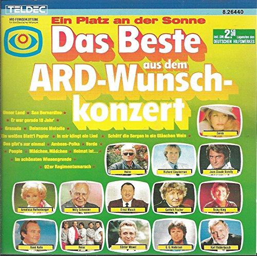 Ein Platz an der Sonne: Das Beste aus dem ARD Wunschkonzert