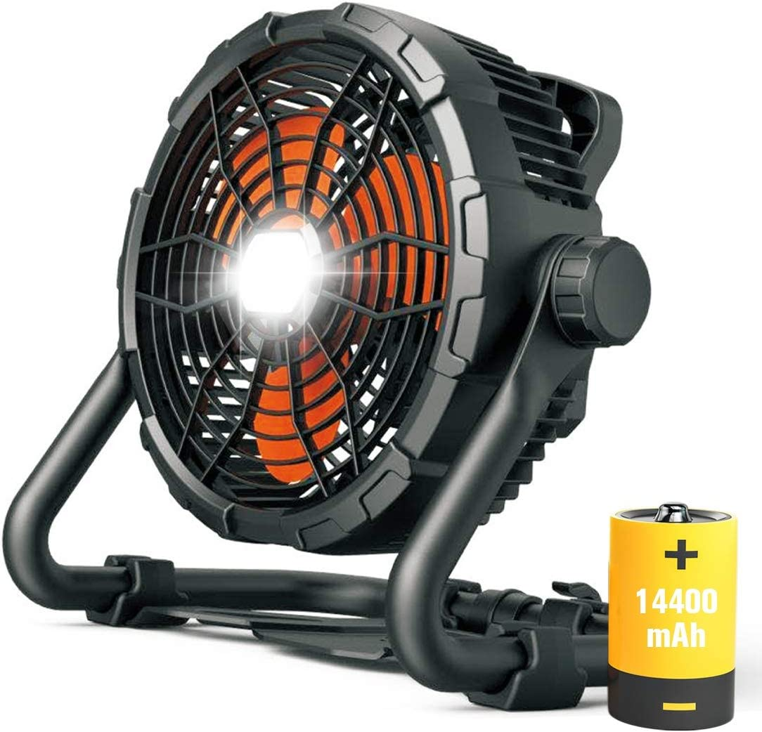Battery Operated Fan Rechargeable Floor Light with 15 Sale Special Reservation Price to Up