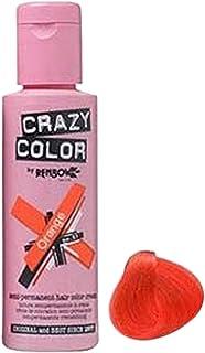 Crazy Color Orange Hair Color Cream Code 60