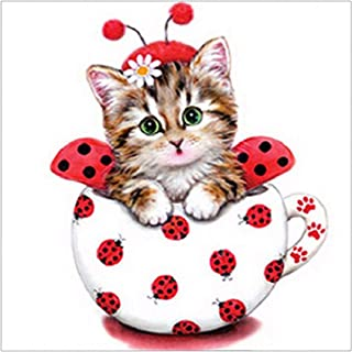 Cat Diamond Painting 5D DIY Diamond Painting Embroidery Rhinestone Cross Stitch Arts Craft Supply For Home Wall Decor
