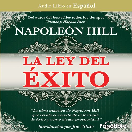 La Ley del Exito [The Law of Success] audiobook cover art