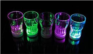 HaoYiShang - Taza de cerveza con 7 luces LED que cambian